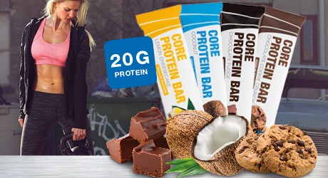 Core Protein Bar 4 smaker