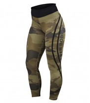 Camo High Tights