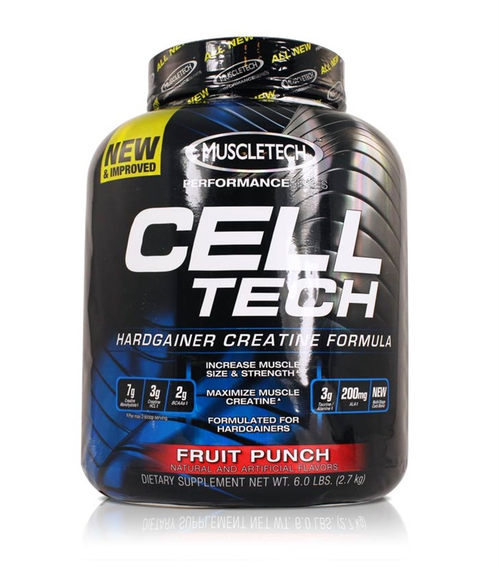 Cell-Tech Performance Series, Præstationsforhøjende - MuscleTech