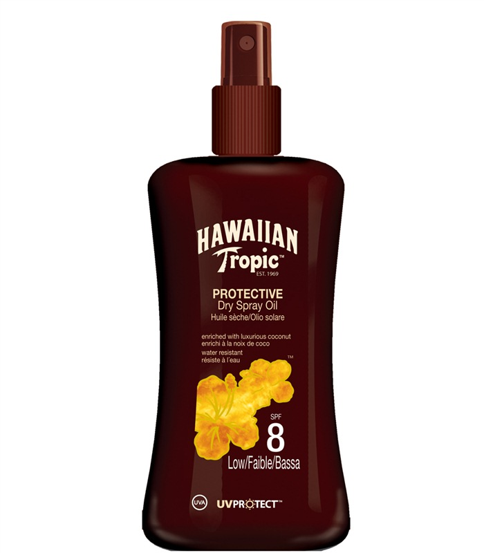 Protective Dry Spray Oil, Øvrige Tilbehør - Hawaiian Tropic