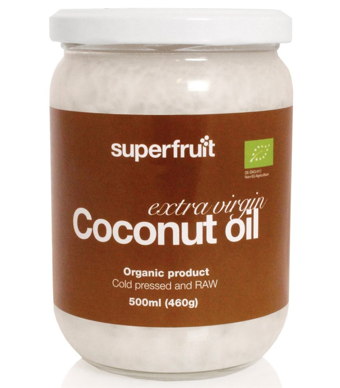 Extra Virgin Coconut Oil, Helsekost - Superfruit
