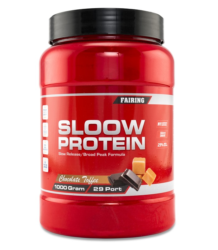Sloow Protein New Edition, Næringstilskud, protein - Fairing