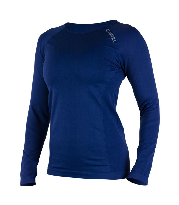 ICANIWILL Seamless Long Sleeve Wmn - ICANIWILL