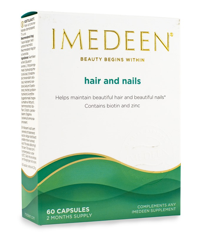 imedeen hår hud naglar