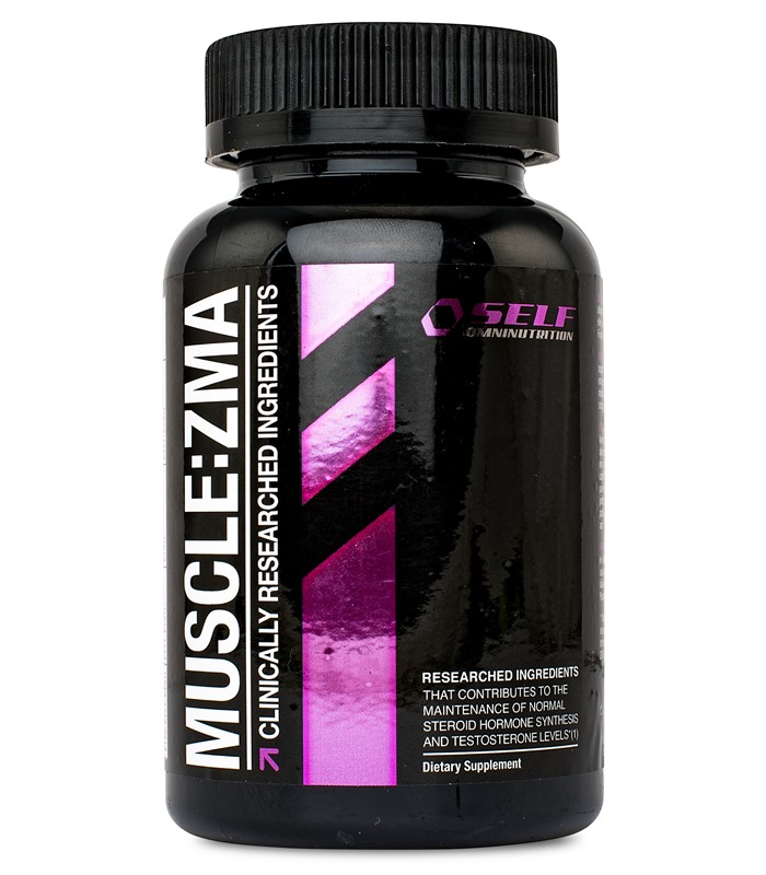 Muscle ZMA, Muskelopbyggende - Self Omninutrition
