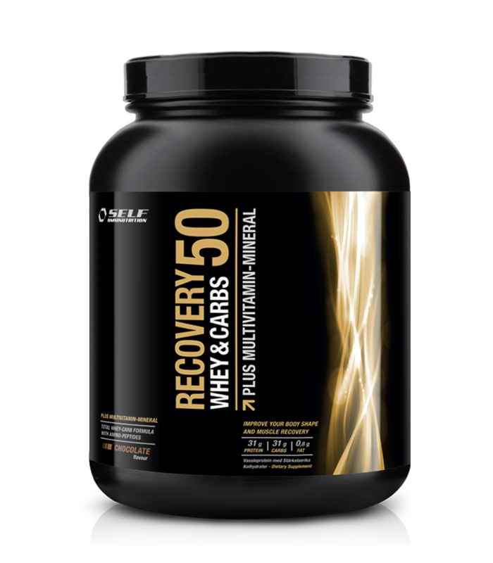 Recovery 50, Næringstilskud, protein - Self Omninutrition