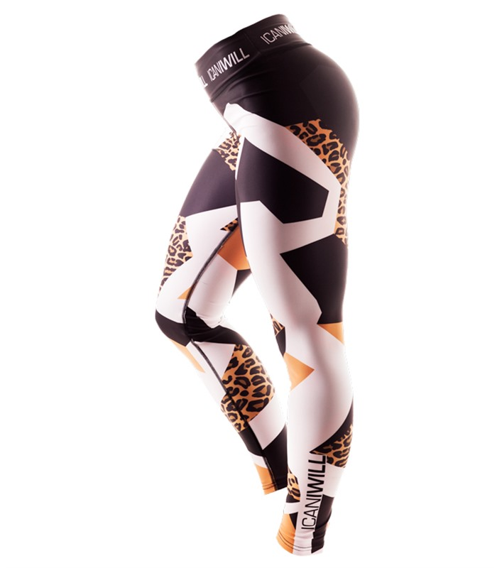 Tights Leopard-edition Wmn - ICANIWILL